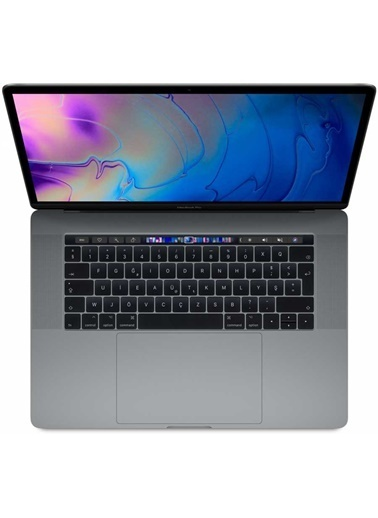 "Apple MacBook Pro 15.4"" QC i7/Touch Bar/2.6GHz 6 CORE/16 2400MHZ/512GBFLASH/PRO 560X 4GB/ S.GRAY Renkli"